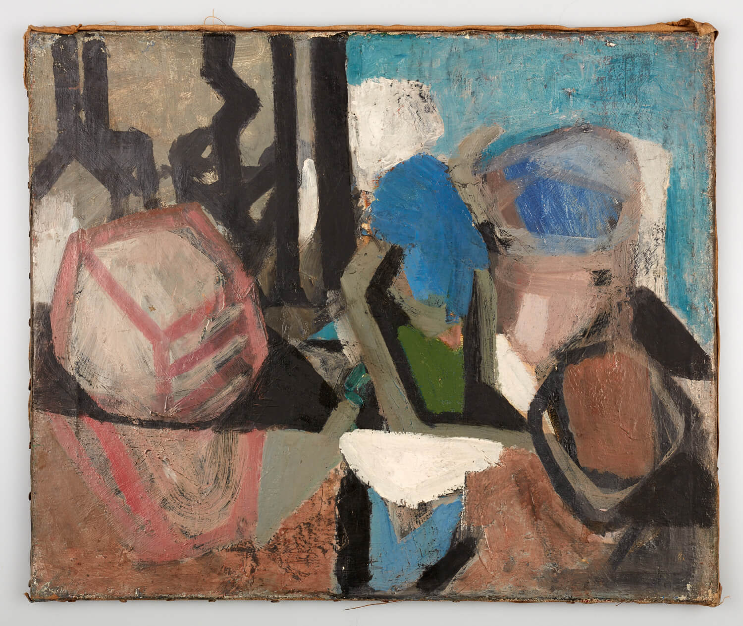 JB190 - Composition - 1950 - 51 x 61 cm - Oil on canvas