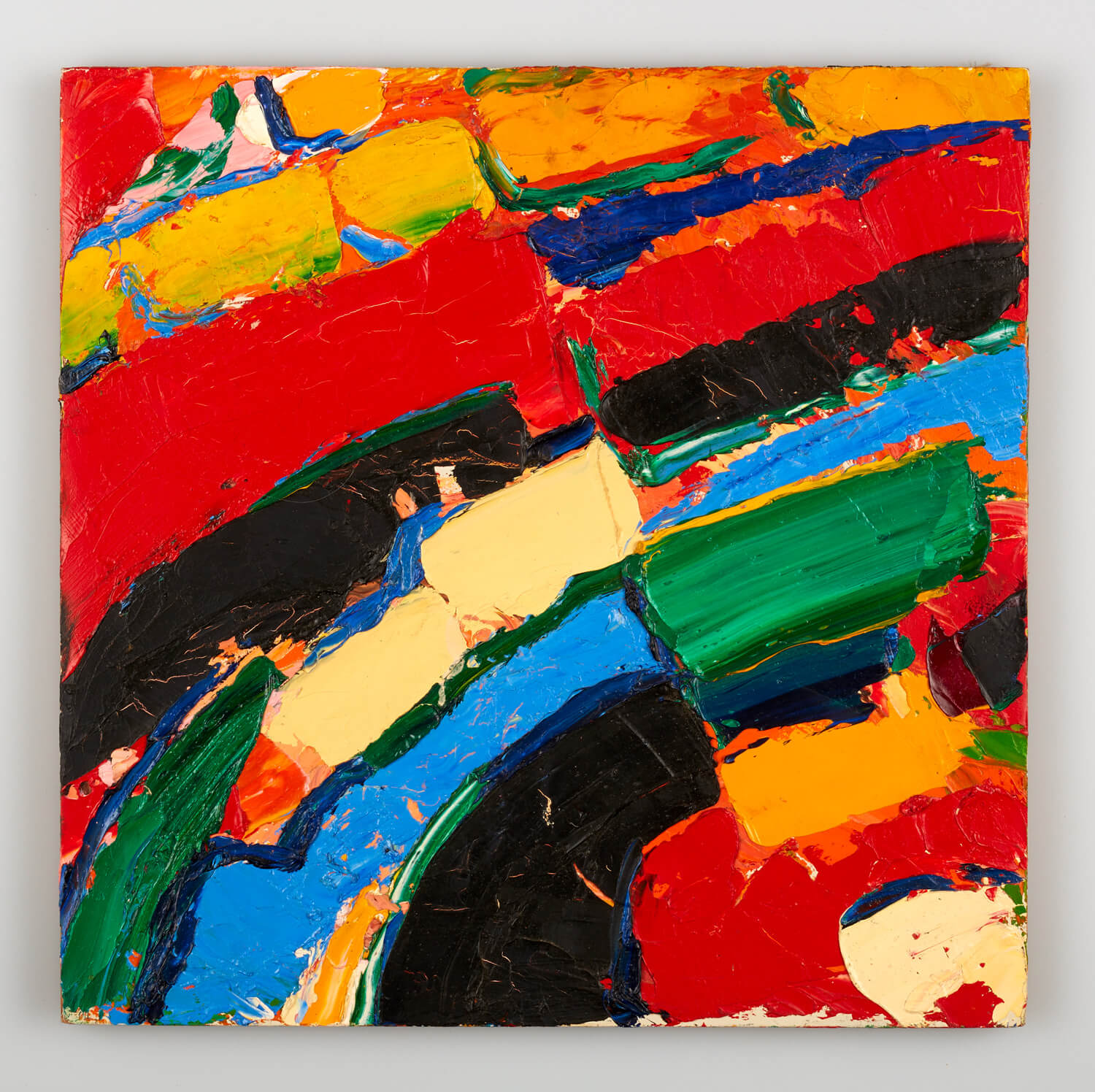JB196 - Abstract - 1994 - 35.5 x 36 cm - Oil on panel