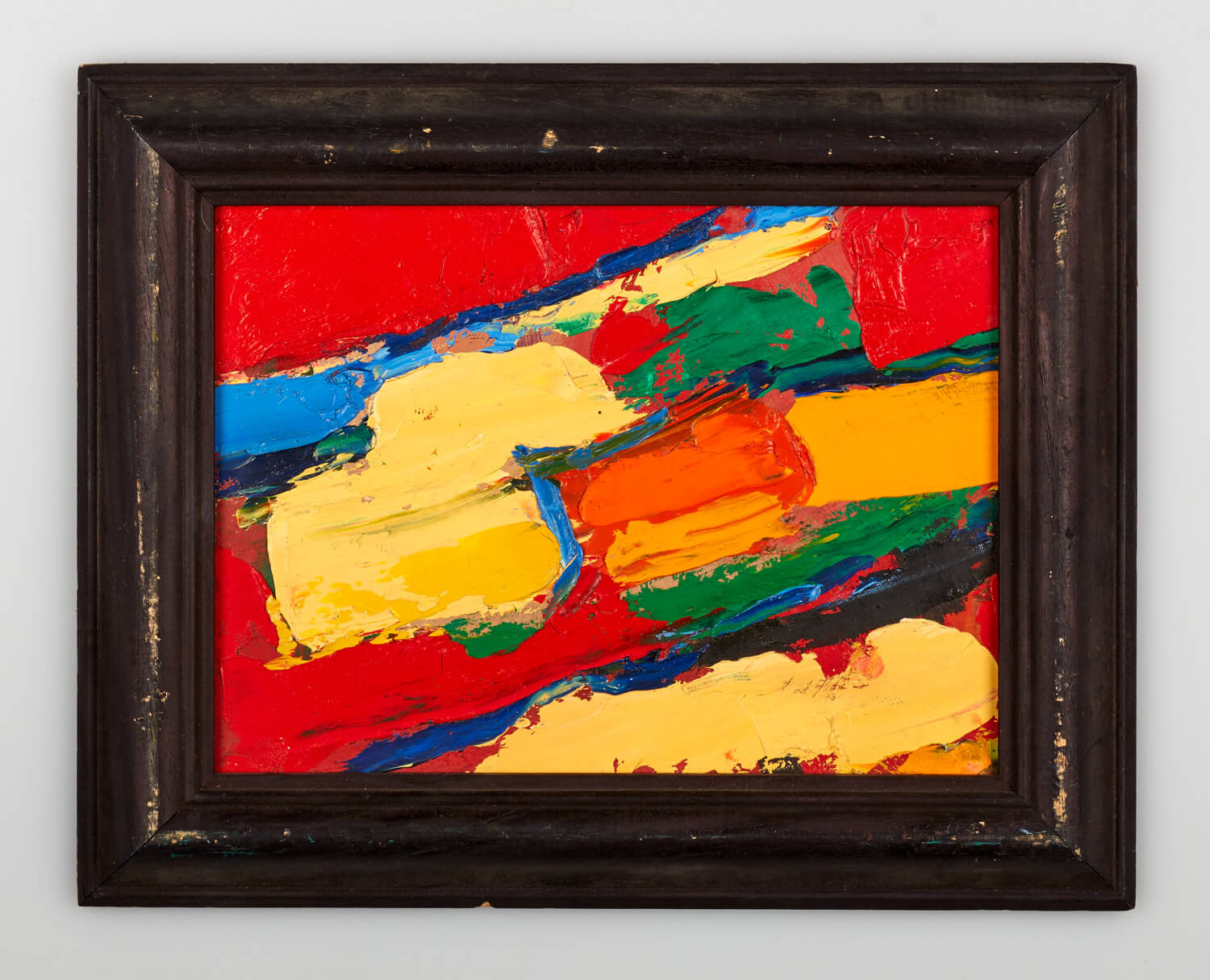 JB198 - Abstract - 1992 - 20 x 27 cm - Oil on panel