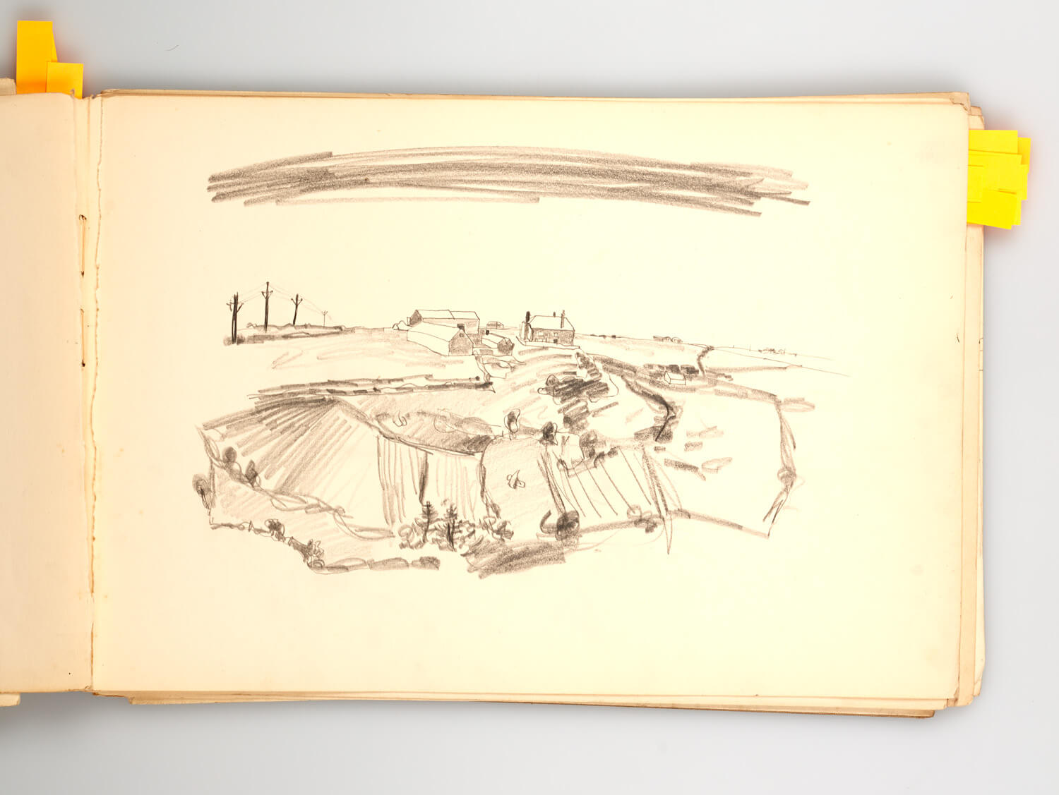 JB275 - Cornish Sketch Book 1948 - 1948 - 25 x 36.5 cm - Pencil