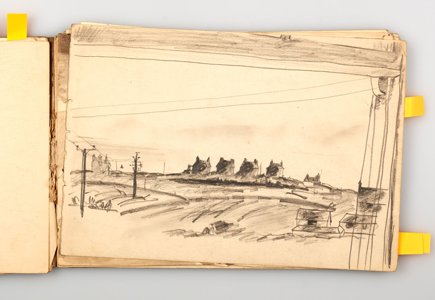 JB290 - Cornish Sketch Book 1948_49 - 1949 - 17.5 x 25.5 cm - Pencil