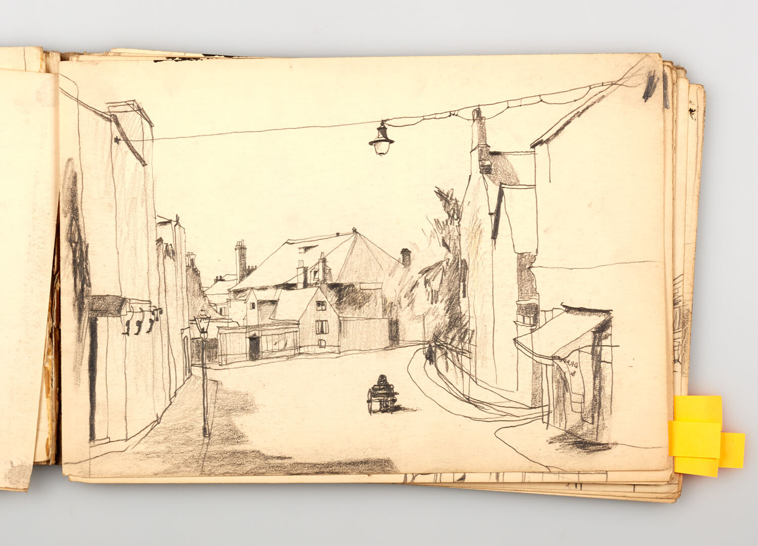 JB295 - Cornish sketch Book 1950 - 1950 - 17.5 x 25.5 cm - Pencil