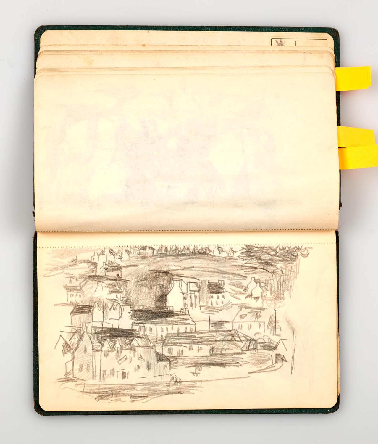 JB303 - Sketch Book 1950 - 1950 - 11 x 20.5 cm - Pencil